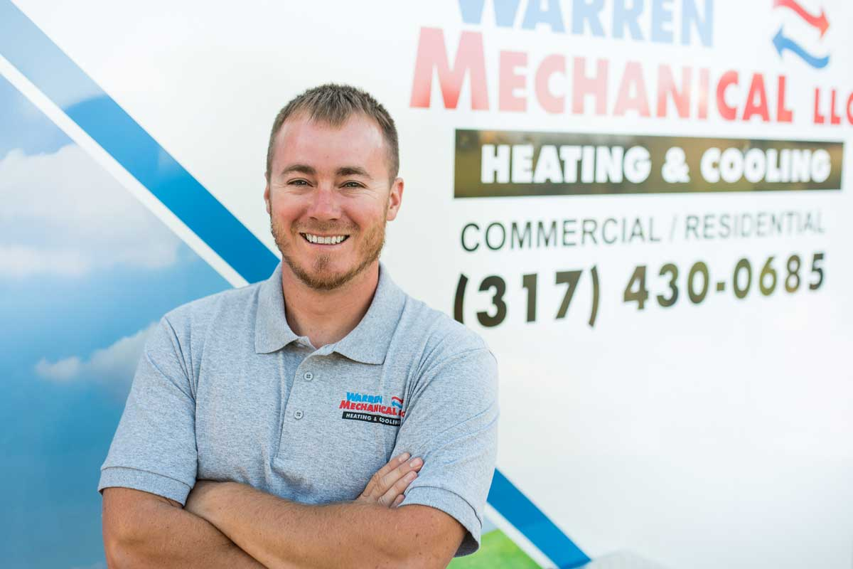 Mike Warren, Owner of Warren Mechanical, LLC - Call us today to schedule service!